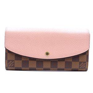 Louis Vuitton Damier Ebene Normandy Flap Wallet